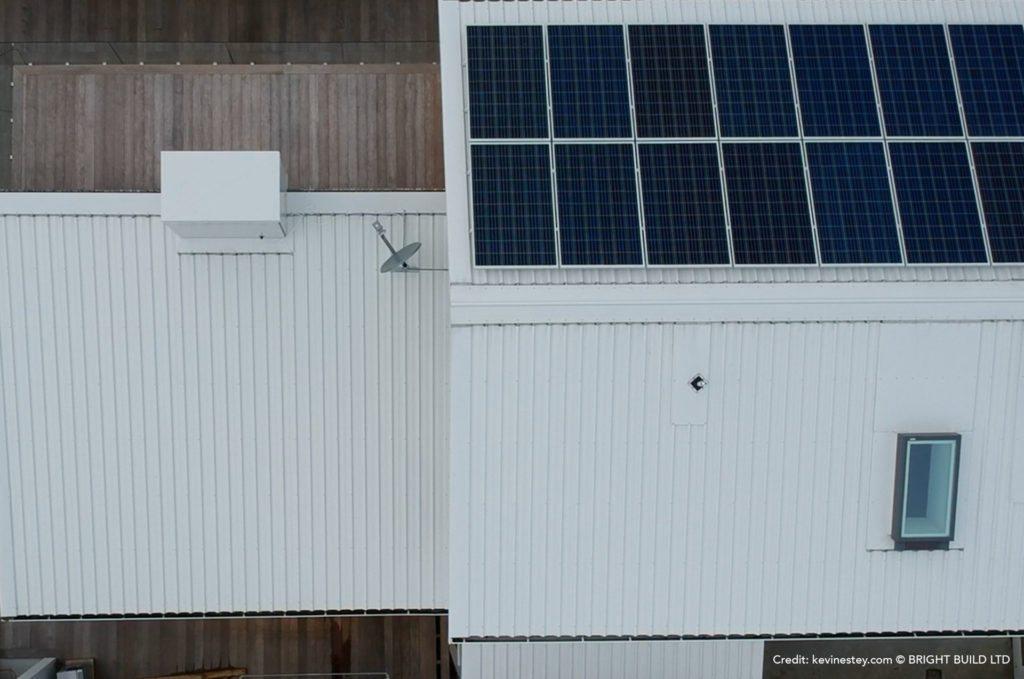 Solar Panels Energy Efficiency Wellington Bright Build